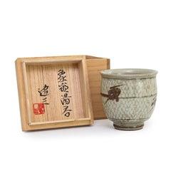 Tatsuzo Shimaoka - Yunomi with Signed Box (INV# NP3196)