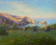 Albion Cove View, Painting, Oil on Canvas