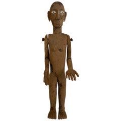 Tau Tau,Wooden Figure from Sulawesi, Indonesia