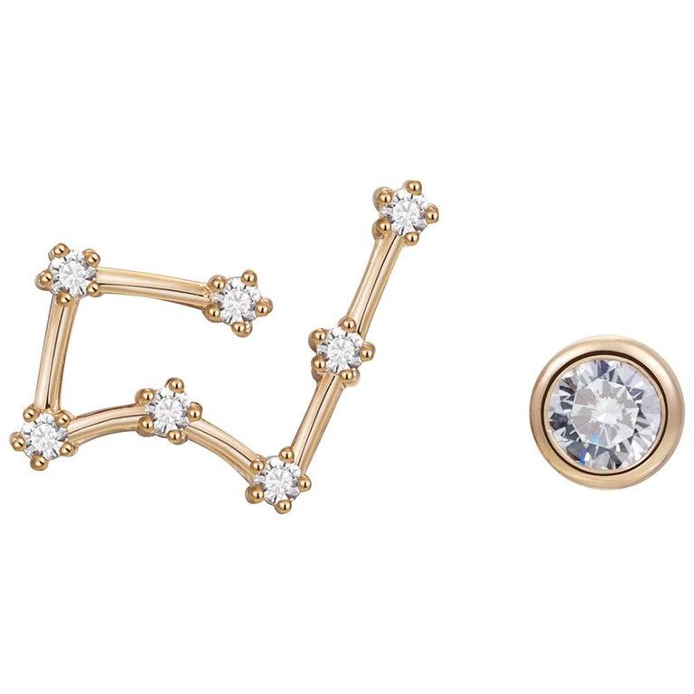 Taurus Constellation Earrings For Sale