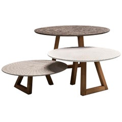 Tavoli Nichi Coffee Tables Set of 3 by Marella Ferrera