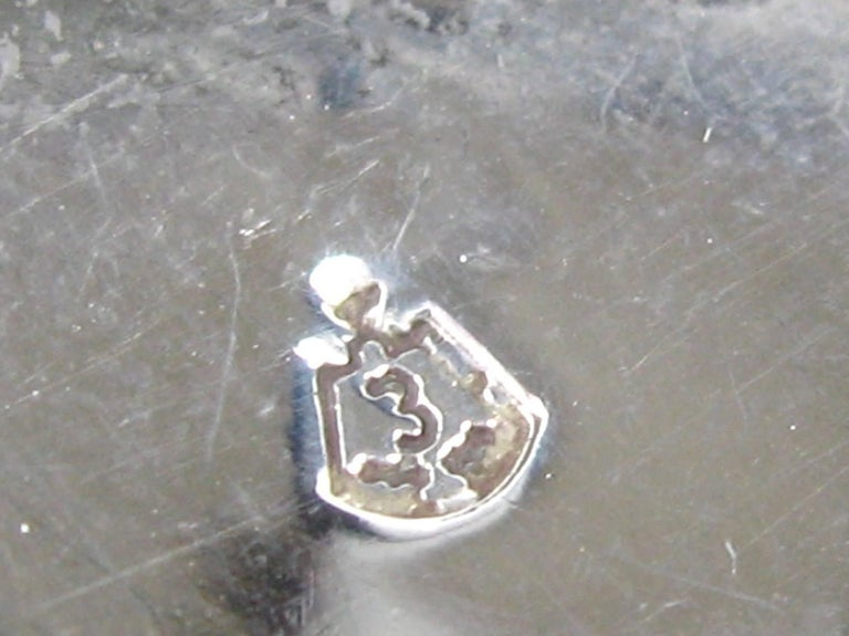 Taxco Pendant Brooch Mexican Sterling Silver Warrior  For Sale 1