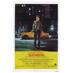 Taxi Driver 1976 U.S. One Sheet Film Poster