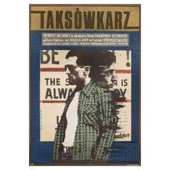 Taxi Driver 1978 Polish B1 Film Poster