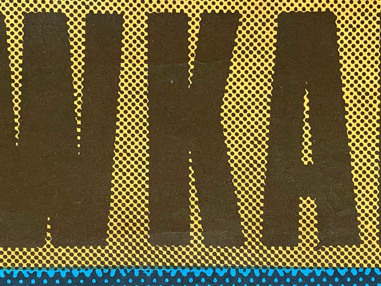 'Taxi Driver' Original Vintage Movie Poster by Andrzej Klimowski, Polish, 1978 For Sale 2
