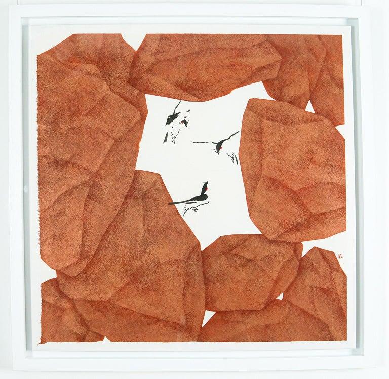 Hiding, Seeking - Painting by Tay Bak Chiang