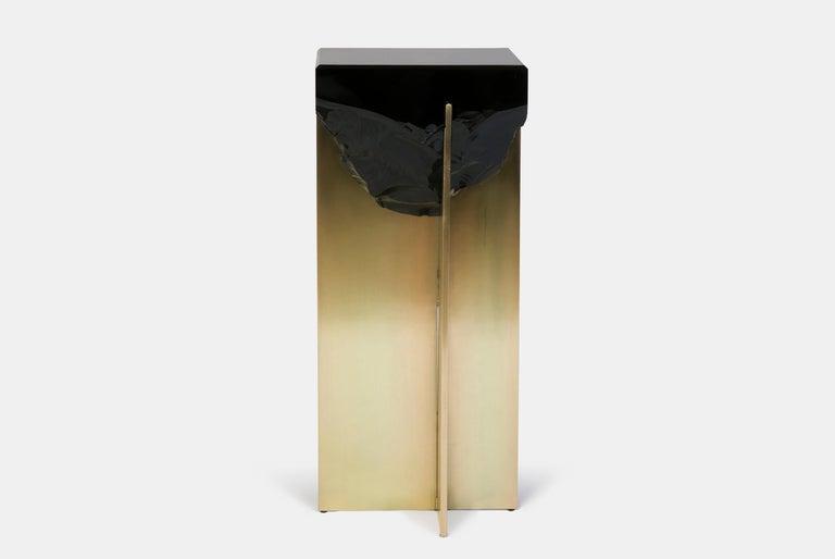 Obsidian Side Table