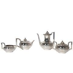 Four Piece Gorham Silver Tea and Coffee Set