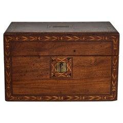 Tea Caddy Box