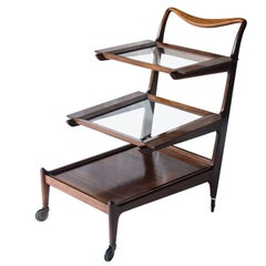 Midcentury Tea Cart, Teperman 1950s
