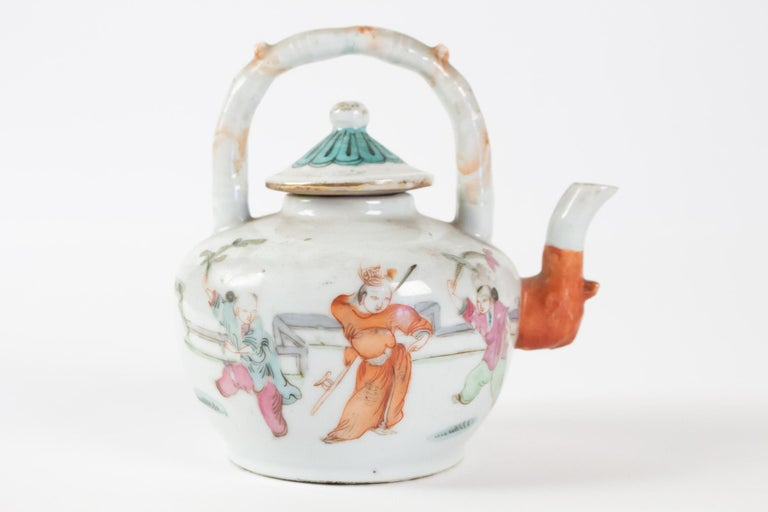 Tea, China, Antiques, Asian Art, 19th Century In Good Condition For Sale In Saint-Ouen, FR