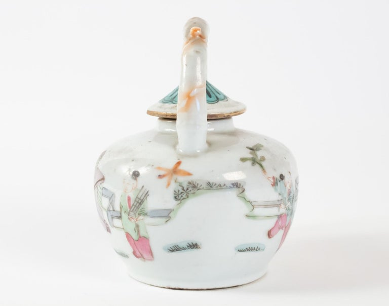 Late 19th Century Tea, China, Antiques, Asian Art, 19th Century For Sale