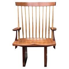 Tea House Chair in Mahogany