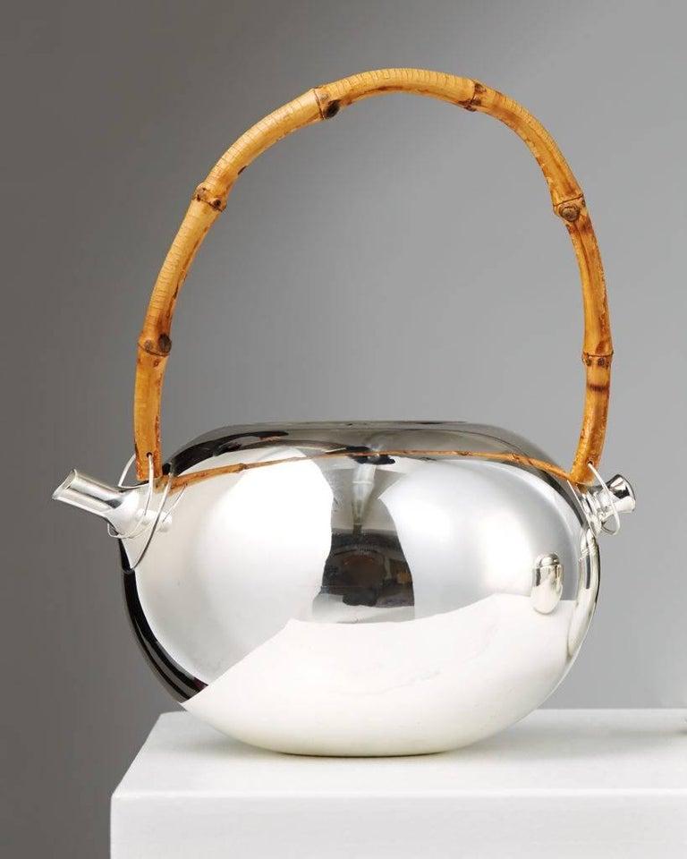 Scandinavian Modern Tea Set Designed by Vivanna Torun Bülow-Hübe for Dansk International Designs