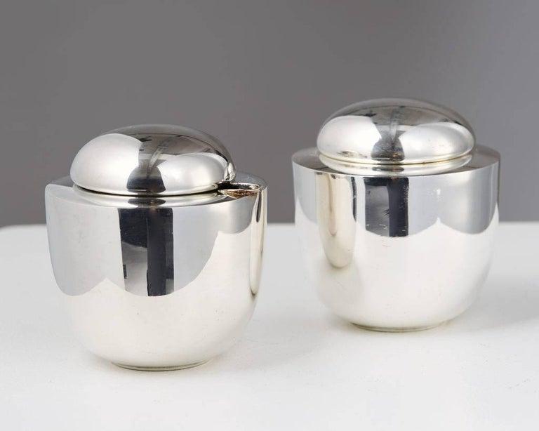 Danish Tea Set Designed by Vivanna Torun Bülow-Hübe for Dansk International Designs