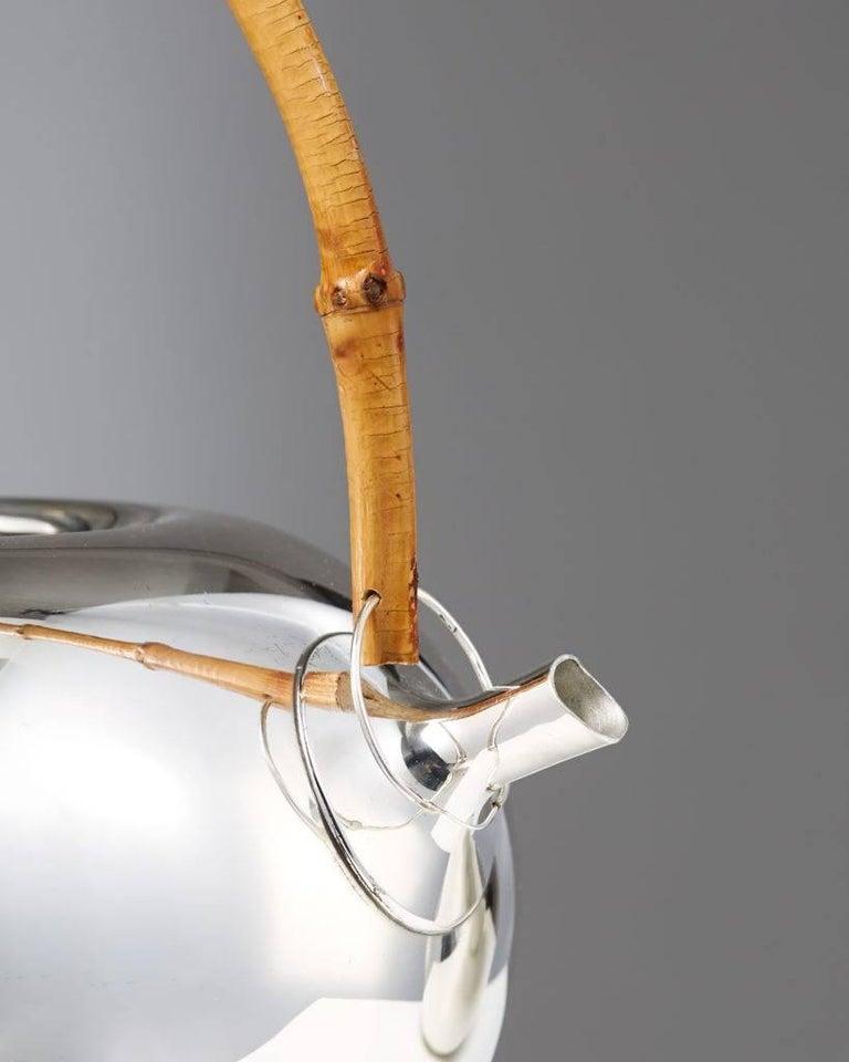 Tea Set Designed by Vivanna Torun Bülow-Hübe for Dansk International Designs In Excellent Condition In Stockholm, SE