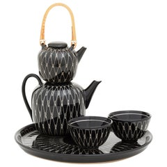 Tea Set Mid-Century Modern Design by Hedwig Bollhagen Emerged from the Bauhaus