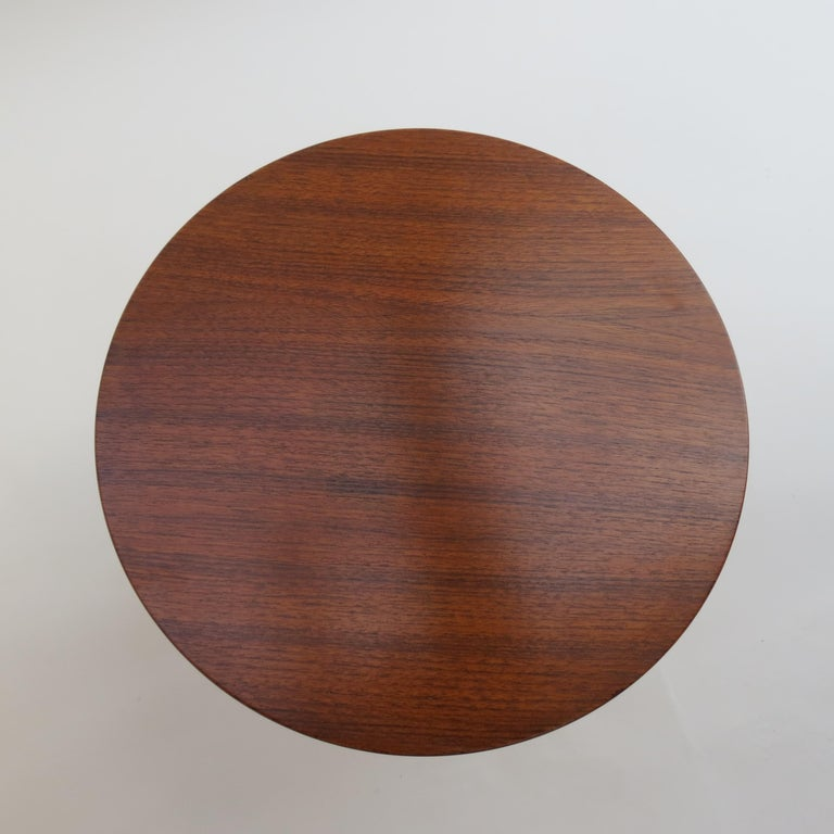 Teak 3 Legged Table by Albert Larsson Alberts Tibro Sweden In Good Condition In Stow on the Wold, GB