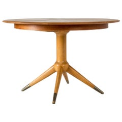 Teak and Beech Dining Table by David Rosén