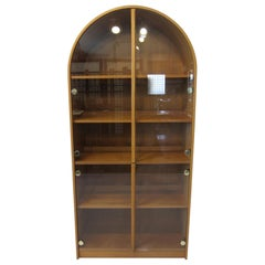 Teak and Glass Danish Styled Bookcase