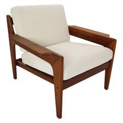 Teak Arne Wahl Iversen Lounge Chair For Komfort, 1960s, Denmark