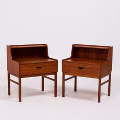 Teak Bedside Tables by Engström & Myrstrand, 1960s, Set of 2
