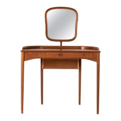 "Teak ""Birgitta"" Dressing Table Carl Malmsten"