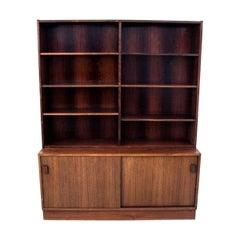 Teak Bookcase, Danish Design, 1960s