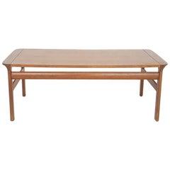 "Teak ""Borneo"" Coffee or Side Table by Sven Ellekaer for Komfort, Denmark, 1960s"