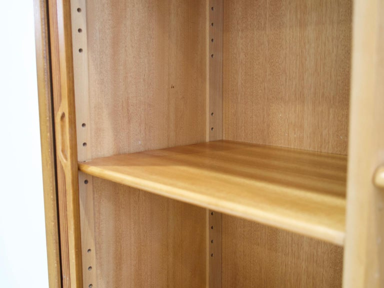 Teak Cabinet by Bodafors with Tambour Doors For Sale 6