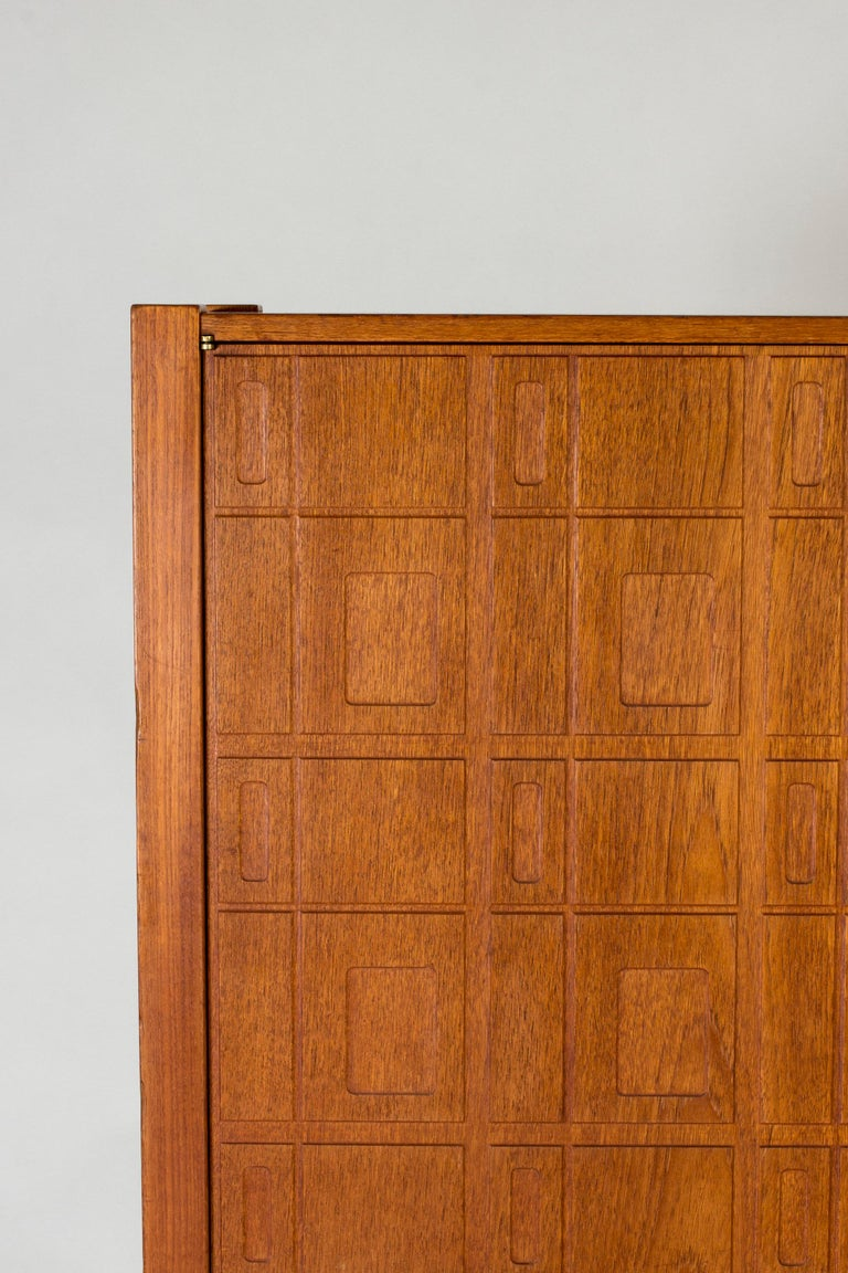 Mid-20th Century Teak Cabinet by Eyvind Beckman For Sale