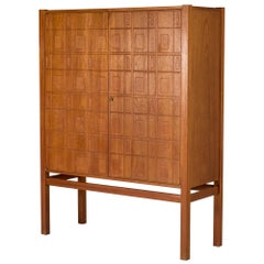 Teak Cabinet by Eyvind Beckman
