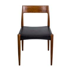 Teak Chair No. 77 by Niels Moller for Moller Models Denmark, 1960s