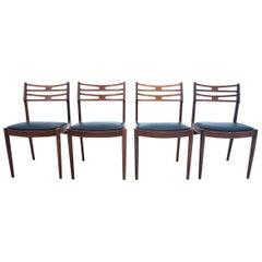 Teak Chairs, Danish Design, 1960s