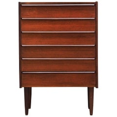 Teak Chest of Drawers 1960-1970 Vintage