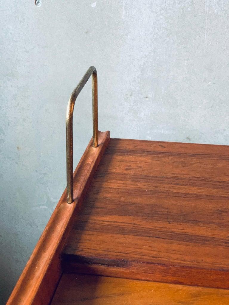 Danish Teak Chest of Drawers / Bureau / Secretary, Denmark, 1960s For Sale
