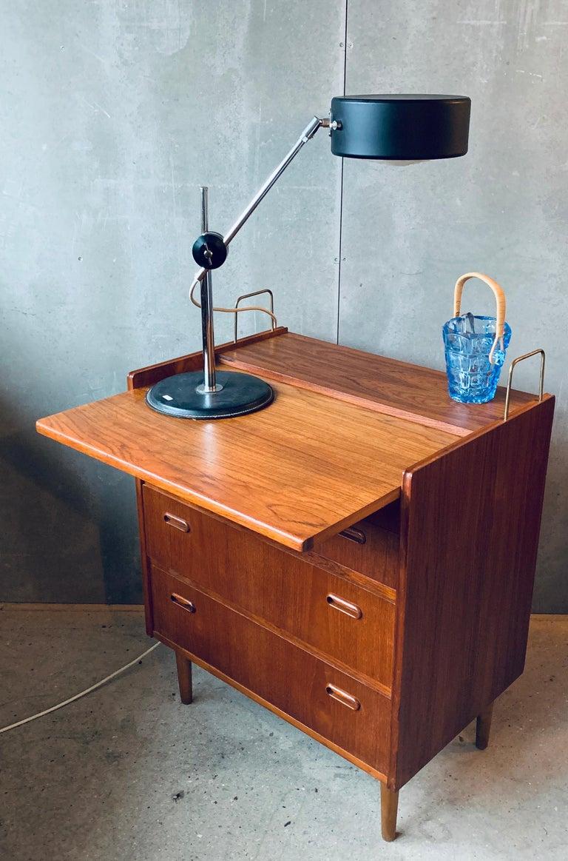 20th Century Teak Chest of Drawers / Bureau / Secretary, Denmark, 1960s For Sale