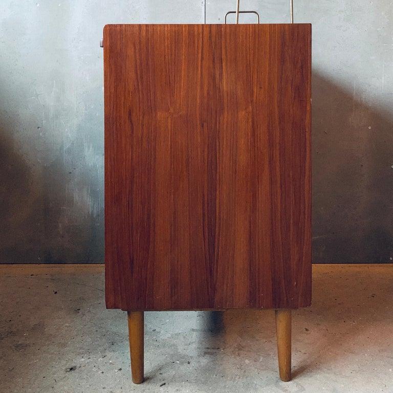 Teak Chest of Drawers / Bureau / Secretary, Denmark, 1960s For Sale 2