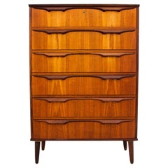 Teak Chest of Drawers, Danish Design, 1960s
