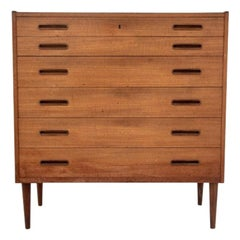 Teak Chest of Drawers, Danish Design