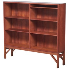 Teak China Bookcase by Børge Mogensen for FDB, 1960s