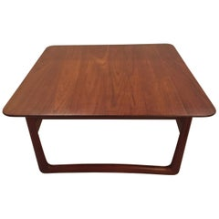 Teak Coffee Table by Peter Hvidt for France & Daverkosen