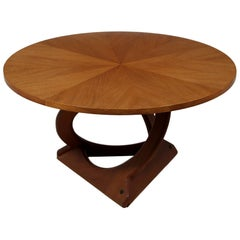 Teak Coffee Table by Søren Georg Jensen for Kubus