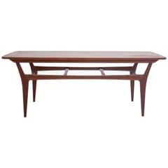 Teak Coffee Table, Danish Design, 1960s