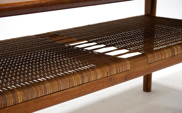 Mid-20th Century Teak Coffee Table Model AT-10 by Hans Wegner for Andreas Tuck, Denmark, Original For Sale