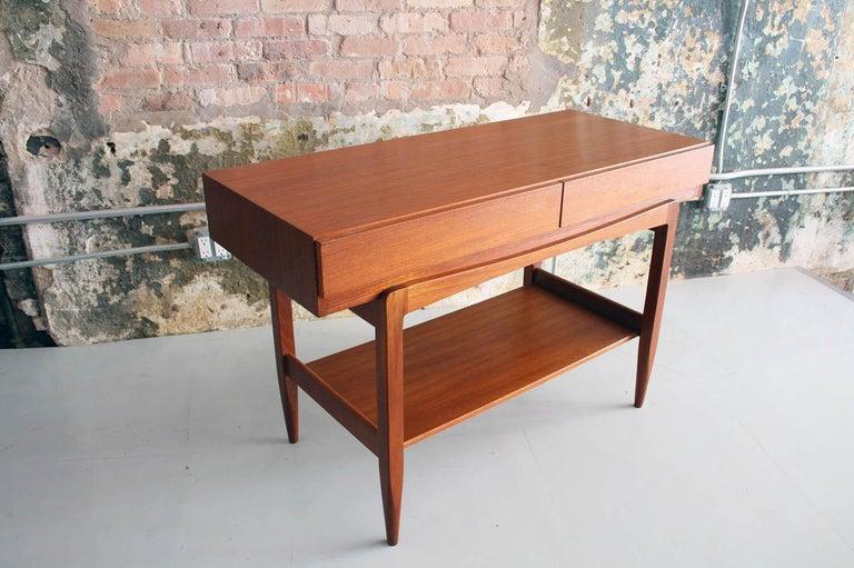Mid-Century Modern Teak Console Table by IB Kofod Larsen For Sale