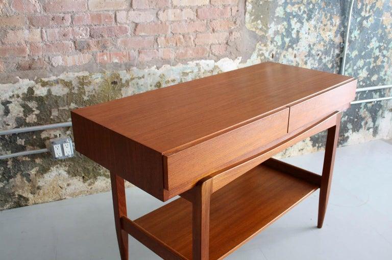 Danish Teak Console Table by IB Kofod Larsen For Sale