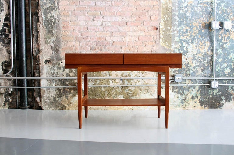 20th Century Teak Console Table by IB Kofod Larsen For Sale