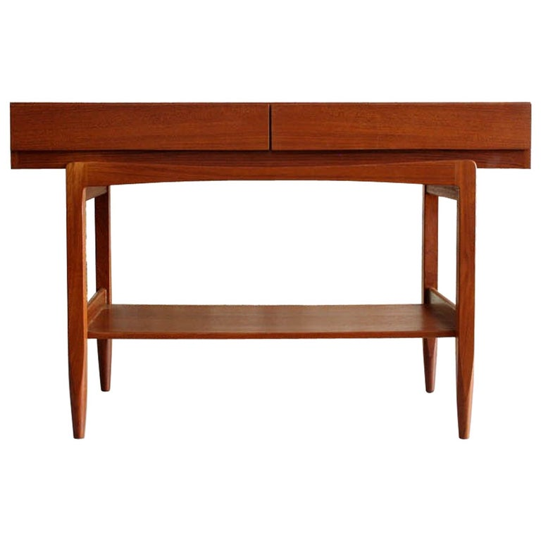 Teak Console Table by IB Kofod Larsen For Sale