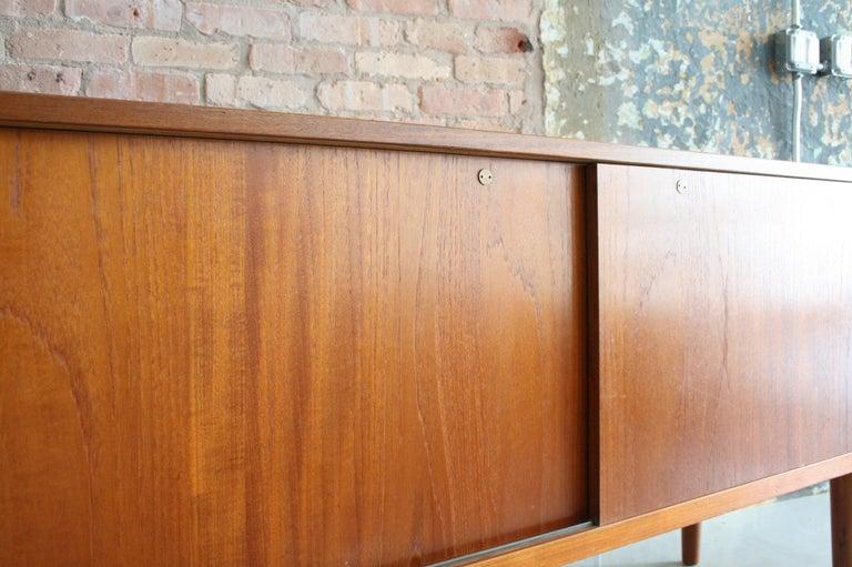 Teak Credenza by Hans Wegner for Ry Mobler Denmark For Sale 3